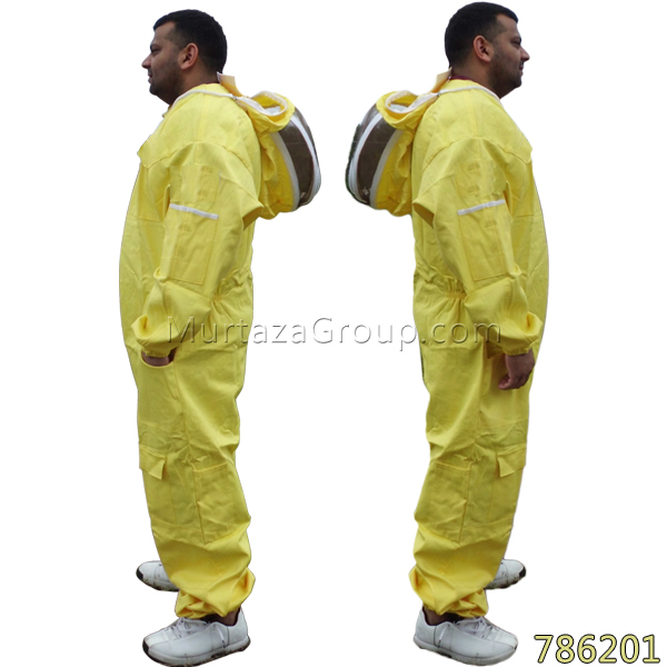 Murtaza Group White Bee Suit (Adult) 786100